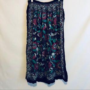 Vintage Diane Von Furstenberg Skirt sz L